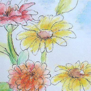 ちい庭日記-花の絵