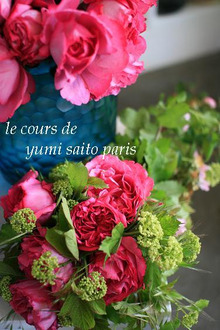 $パリで花仕事