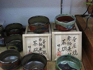 晴れのち曇り時々Ameブロ-小橋川明史作の抹茶碗