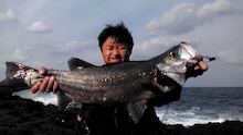 $銭がなくても釣りはできる・・・さて、今日も釣りに行こうっと。