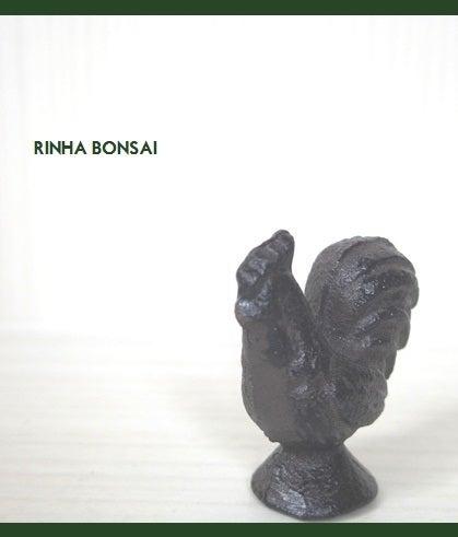 bonsai life      -盆栽のある暮らし- 東京の盆栽教室 琳葉(りんは)盆栽 RINHA BONSAI-琳葉盆栽 置物 ニワトリ
