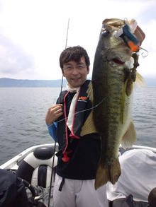 琵琶湖プロガイド 小南 悠のブログ-DCF00596.jpg