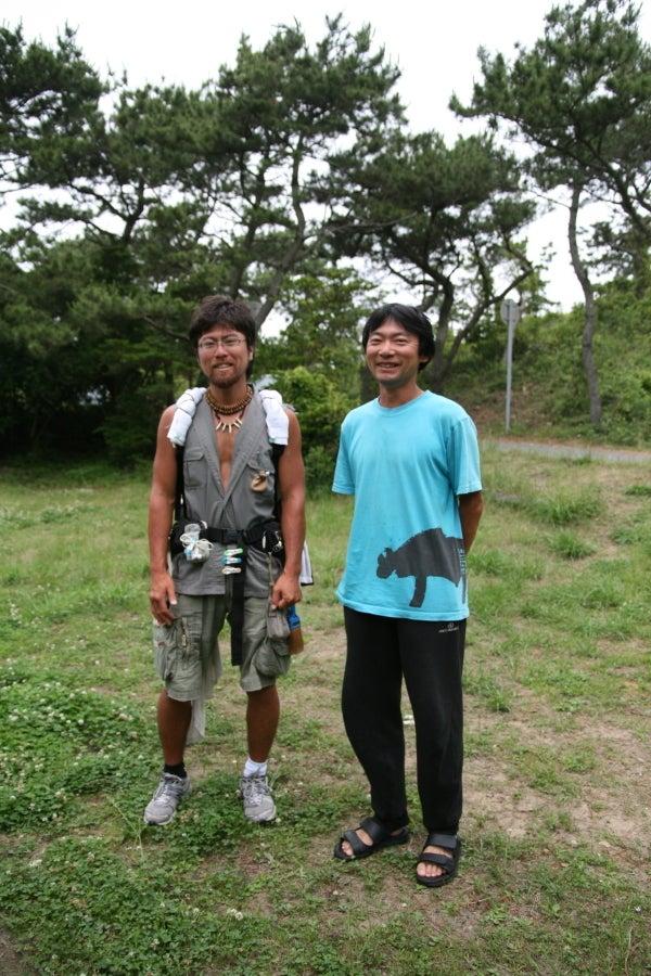 $歩き人ふみの徒歩世界旅行 日本・台湾編-おがわ君と