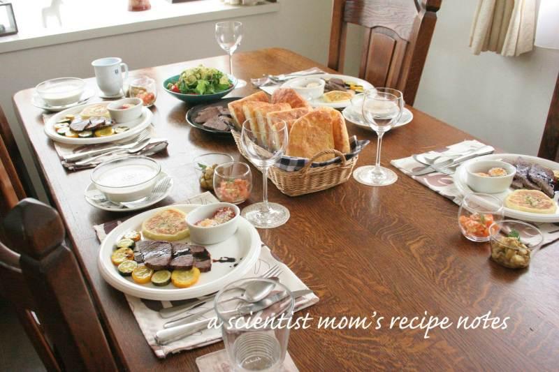 今日のおもてなしランチ♡|科学者ママnickyオフィシャルブログ「科学者ママのお料理ノート」Powered by Ameba