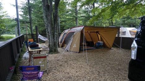 ワンコを連れて!子供と一緒にキャンプに行こう!-2013北軽井沢スウィートグラス7