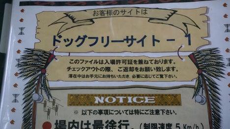 ワンコを連れて!子供と一緒にキャンプに行こう!-2013北軽井沢スウィートグラス95