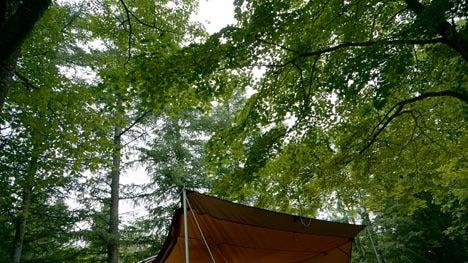 ワンコを連れて!子供と一緒にキャンプに行こう!-2013北軽井沢スウィートグラス22