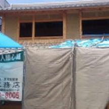 高石市の石場建の家