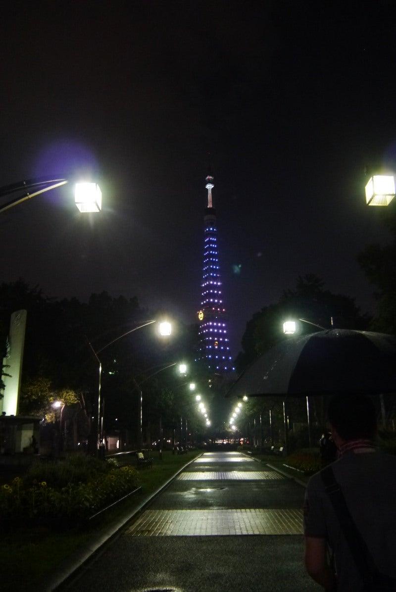 東京タワー ドラえもんイルミ-1