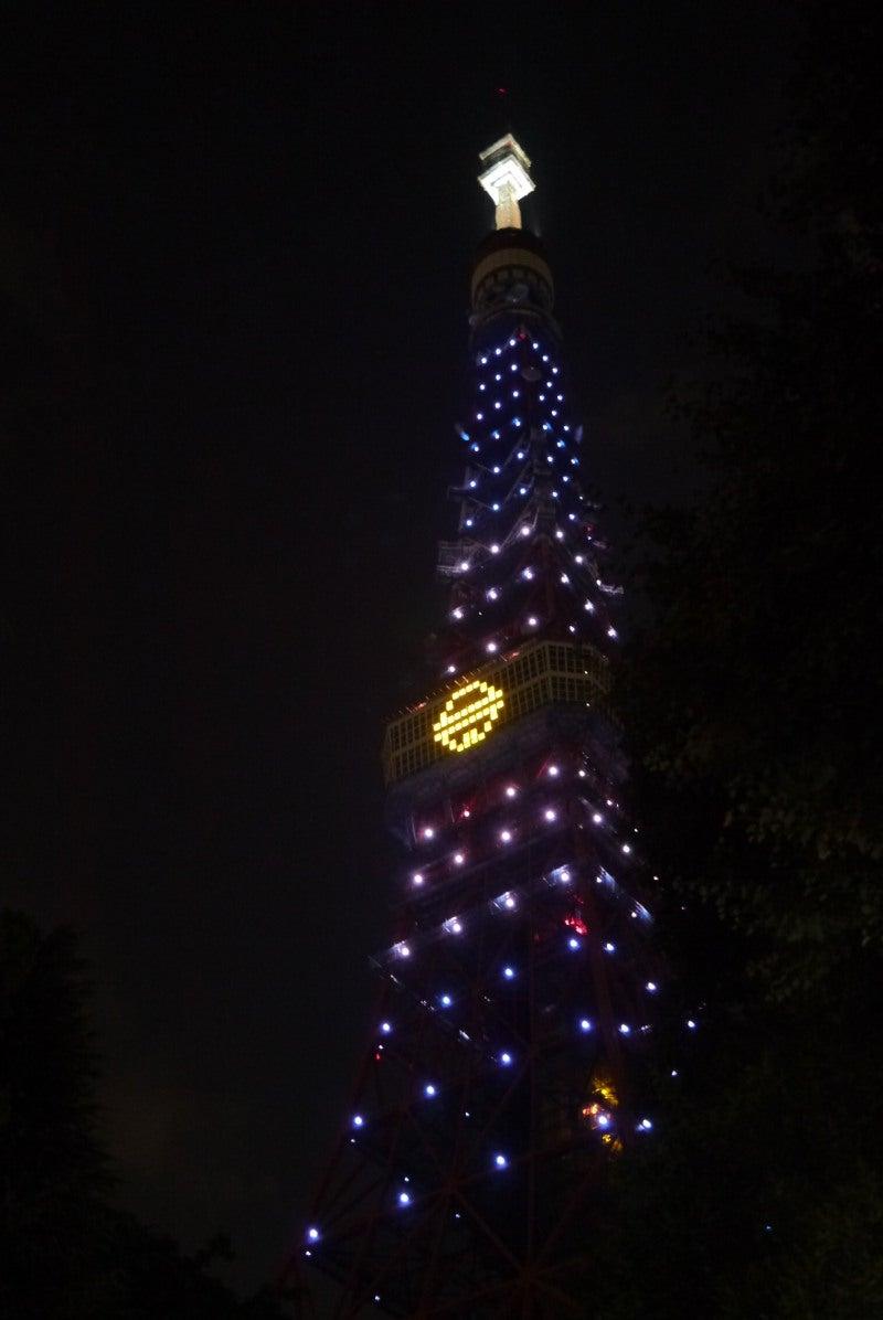 東京タワー ドラえもんイルミ-3