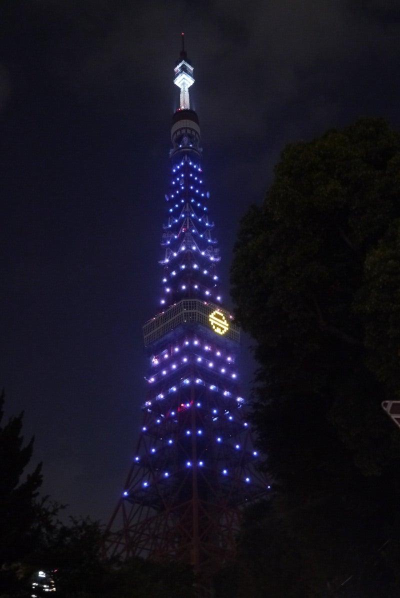 東京タワー ドラえもんイルミ-6