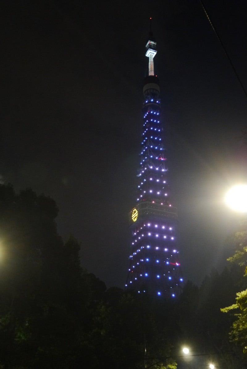 東京タワー ドラえもんイルミ-2