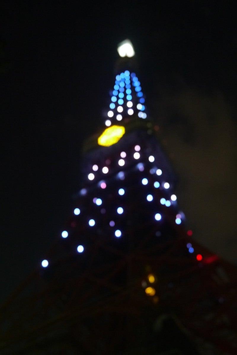 東京タワー ドラえもんイルミ-5