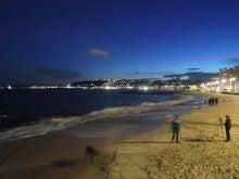 ハプニングスター☆ブログ-夜の海岸