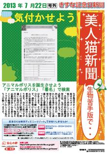 美人猫新聞20130722