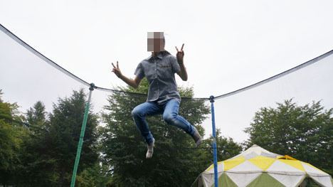 ワンコを連れて!子供と一緒にキャンプに行こう!-2013北軽井沢スウィートグラス136