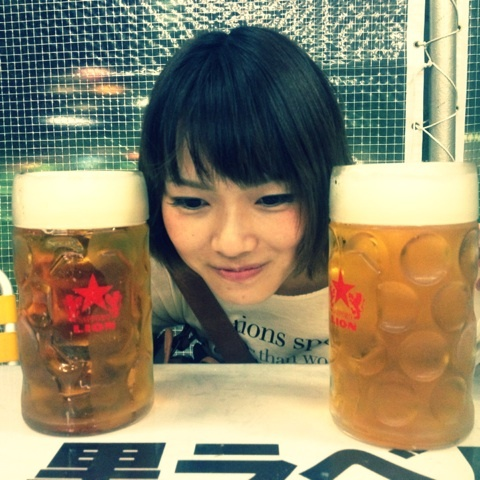 メガビール | 山脇千文美のブログ『永遠の中二病ぴとうに』