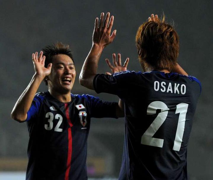 齋藤学 大迫勇也 サッカー 日本代表 ウルグアイ戦 東アジアカップ