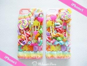 18SweetsDecoキャンディー詰め合わせ iPhone5スイーツデコケース