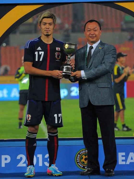 山口螢 サッカー 日本代表 東アジアカップ 初制覇 韓国 勝利 初優勝