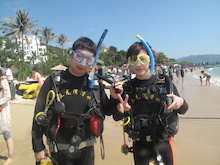 海南潜水 hainandivingのブログ-OWD010106