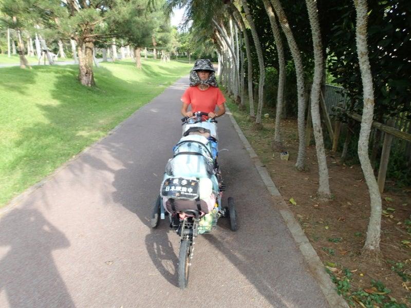 歩き人ふみの徒歩世界旅行 日本・台湾編-海洋博公園