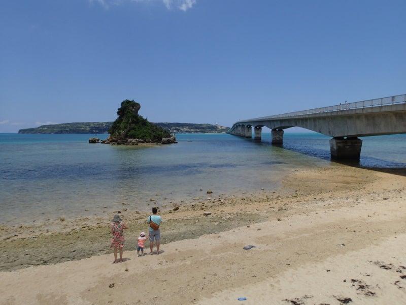 歩き人ふみの徒歩世界旅行 日本・台湾編-古宇利島