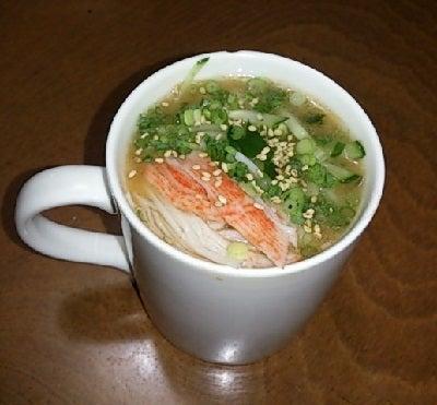 豆腐の Cooking Life-春雨スープ坦坦風