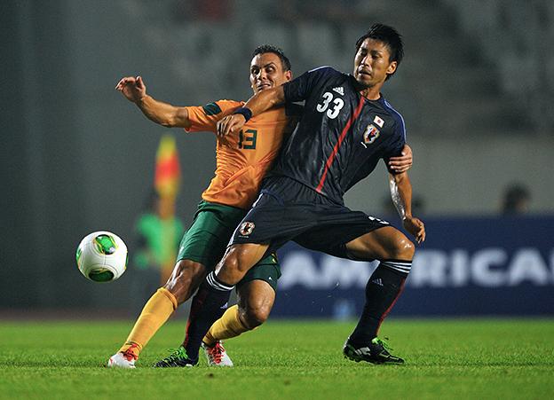 豊田陽平 サッカー 日本代表 ウルグアイ戦 東アジアカップ