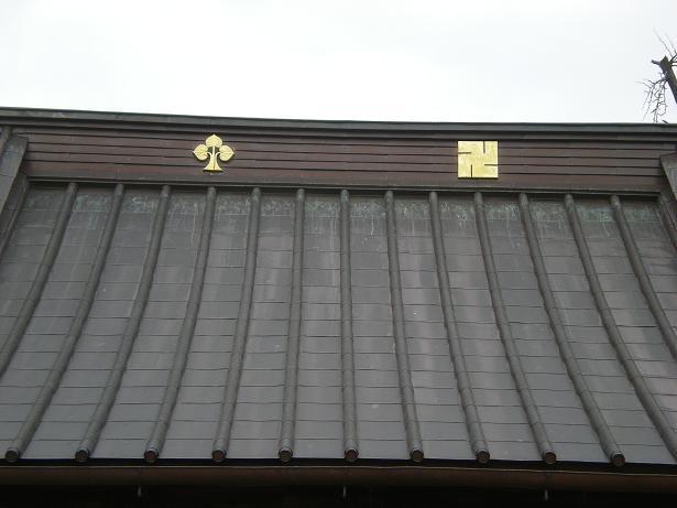 夫婦世界旅行-妻編-寺の紋