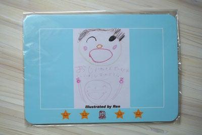 子供の絵を永遠の想い出として残しませんか?-子供の絵 マウスパッド