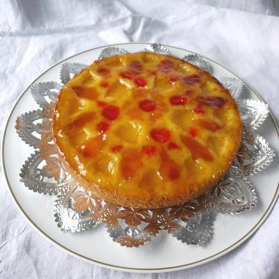 ブレーメンスイーツ-アップサイドダウンケーキ