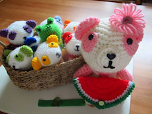 $さいたま市・北浦和で初心者歓迎のかぎ針編み教室