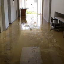萩市集中豪雨被災地の…