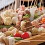 串カツと桶盛り魚のお…