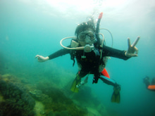海南潜水 hainandivingのブログ-AOW21