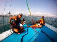 海南潜水 hainandivingのブログ-セイリング12