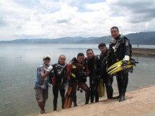 海南潜水 hainandivingのブログ-第9期卒業生1