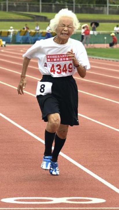 Keeper of the Seven Keys☆陸上女子100m走で90歳の女性が日本記録を20秒以上更新!!?