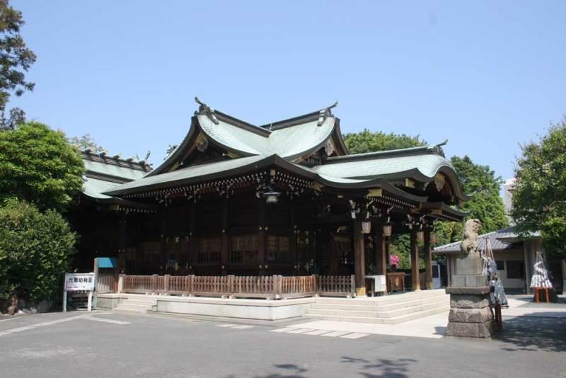 八幡塚砦/六郷神社2