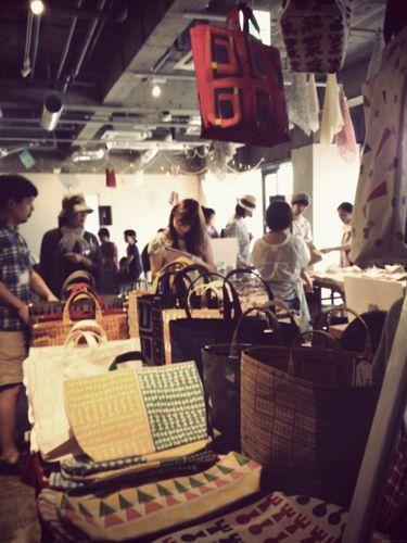 パリのちいさなアンティーク雑貨店 mille chats-かわいい布博09