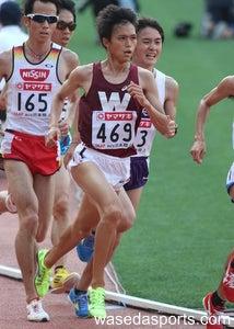 $早スポオフィシャルブログ「ただいま取材中!」-日本選手権1万㍍を走る大迫
