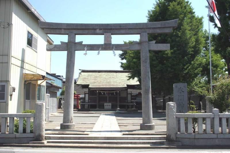宮城氏館/氷川神社