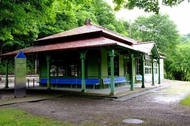 カメラ好きおやじの写真ブログ-旧神居古潭駅舎