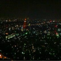 素敵な夜景を眺めなが…