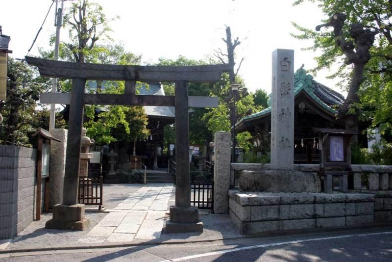 渋江陣屋/白髭神社1