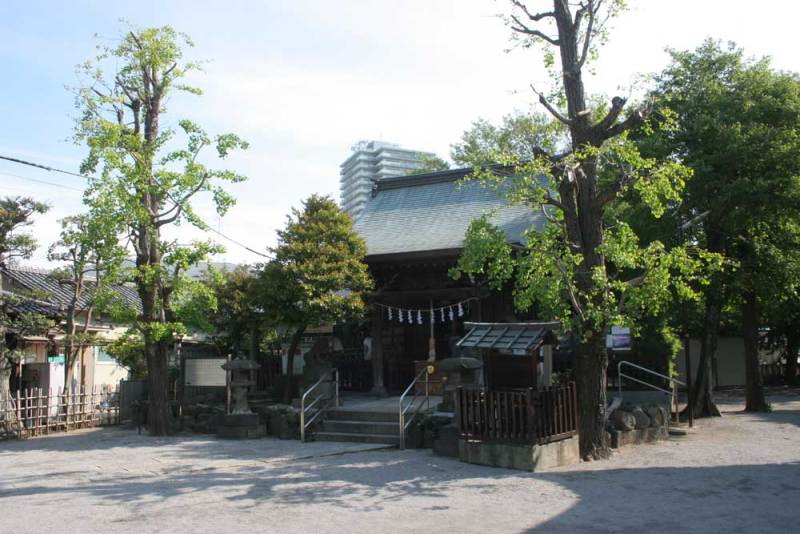渋江陣屋/白髭神社2