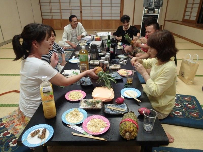 歩き人ふみの徒歩世界旅行 日本・台湾編-宴会