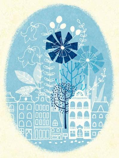 「かわり種の森へようこそ。」イラストレーター三橋絵里子のブログ式絵本-23-2