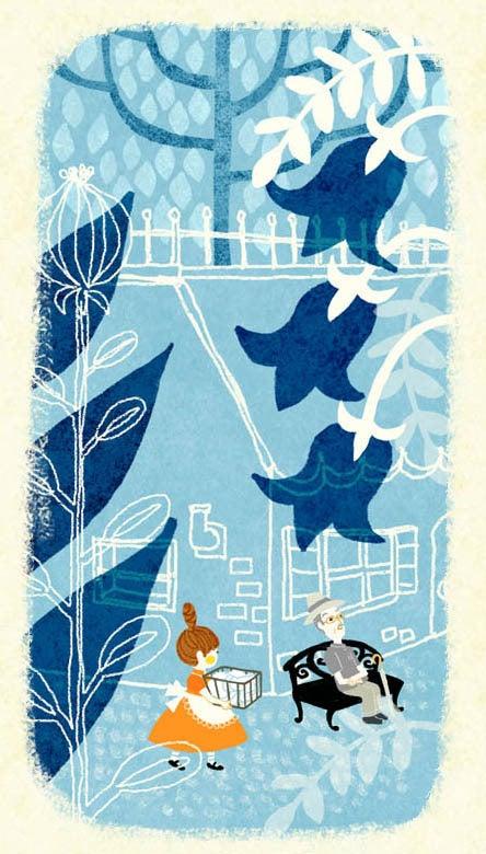 「かわり種の森へようこそ。」イラストレーター三橋絵里子のブログ式絵本-23-4